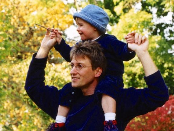 Papa et Noah, Toronto, 2000 (© Copyright Michel Botman Photography)