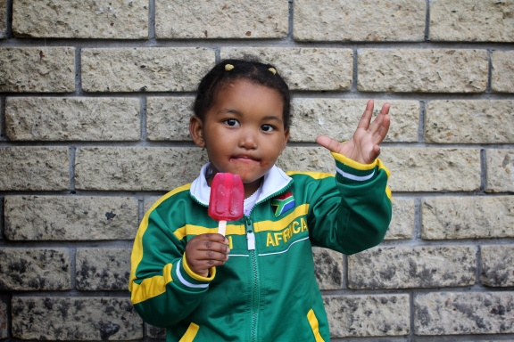 Young South African Supporter. Cape Town, 2011.  Copyright Michel Botman Photography ©