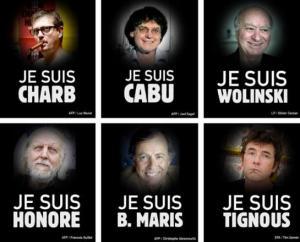 Charlie Hebdo Journalists