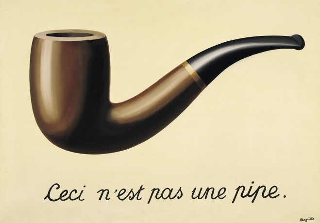 This is not a Pipe, or a prophet