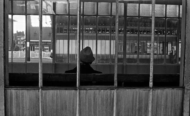 Gare de Tubize. Belgium, circa 1980. © Michel Botman Photography.