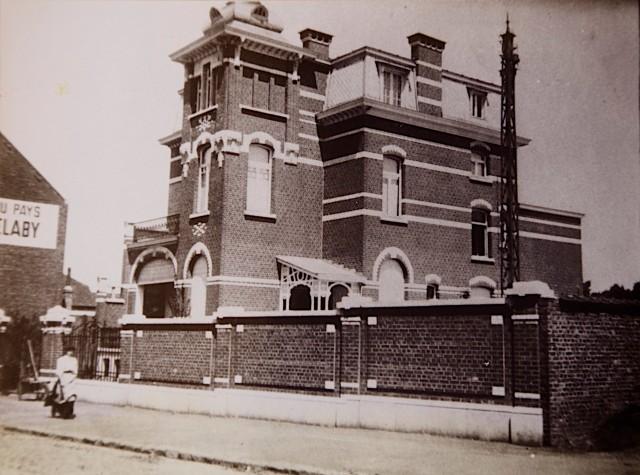 La maison Botman, 34 Rue de la Déportation, Tubize, Circa 1900.